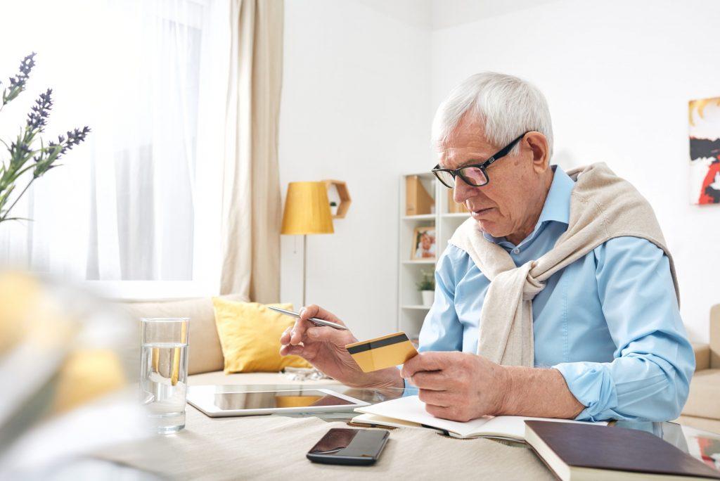 Checking balance of debit card